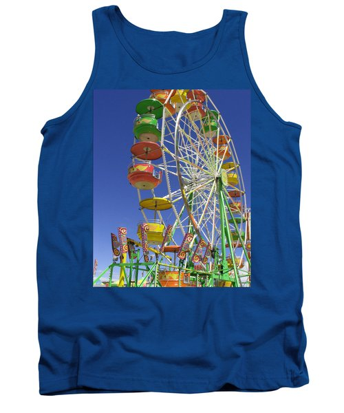 Ferris Wheel Tank Top by Marcia Socolik
