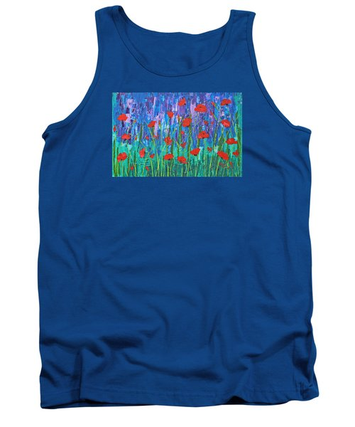 Field Of Dreams Tank Top by Patricia Olson