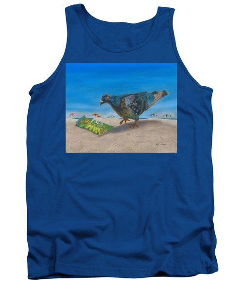 Tank Top featuring the painting Finders Keepers by Arlene Crafton