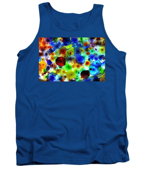 Tank Top featuring the photograph Fiori Di Como By Glass Sculptor by Gandz Photography