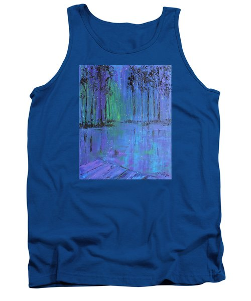 Fireflies Tank Top by Patricia Olson
