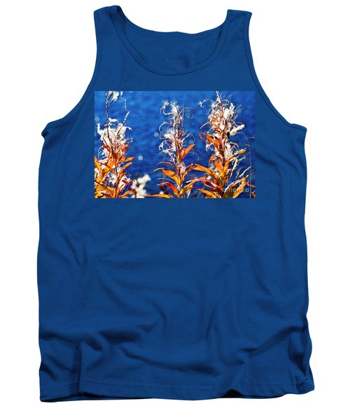 Fireweed Flower Tank Top