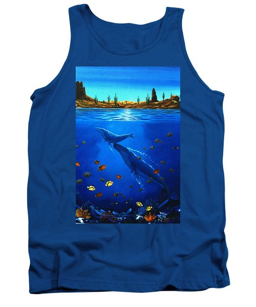 First Breath Tank Top by Lance Headlee