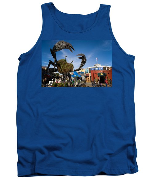 Fishermans Wharf Crab Tank Top