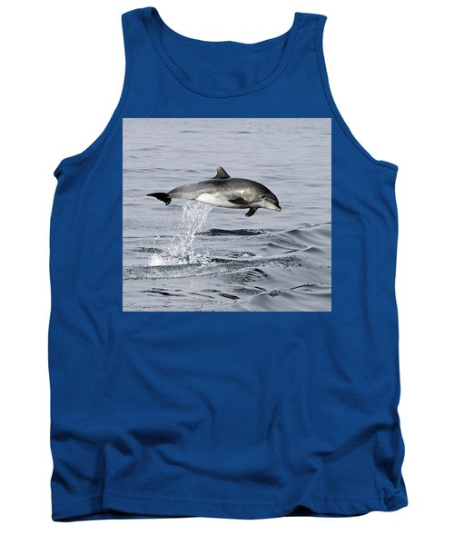 Flight Of The Dolphin Tank Top by Shoal Hollingsworth
