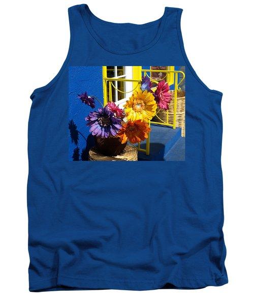 Flores Colores Tank Top