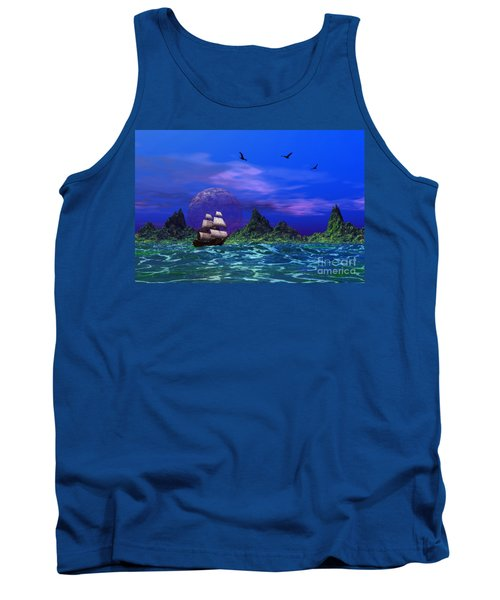 Tank Top featuring the photograph Flying Dutchman by Mark Blauhoefer
