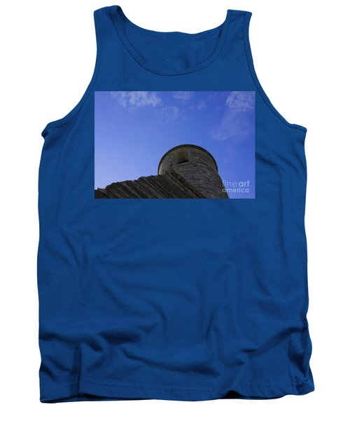 Tank Top featuring the pyrography Fort Tower by Chris Thomas
