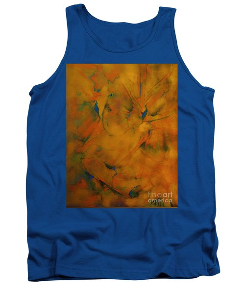 Fossils Birds And Butterflys Tank Top