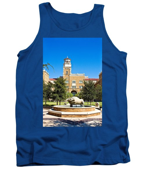 Tank Top featuring the photograph Fountain Of Knowledge by Mae Wertz