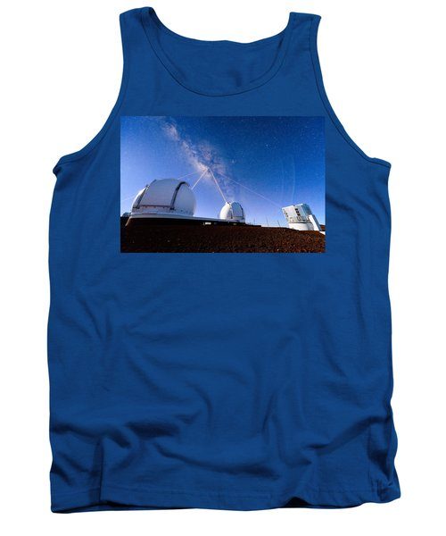 Four Lasers Attacking The Galactic Center Tank Top