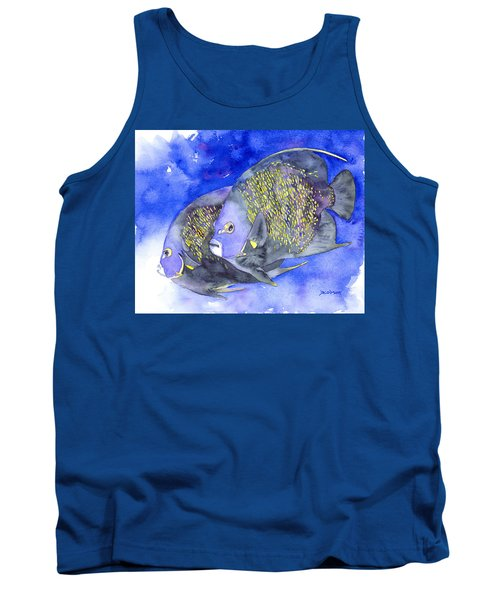 French Angelfish Tank Top