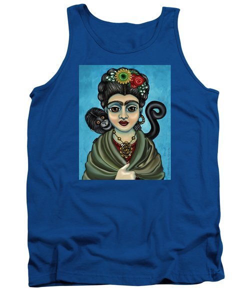 Frida's Monkey Tank Top