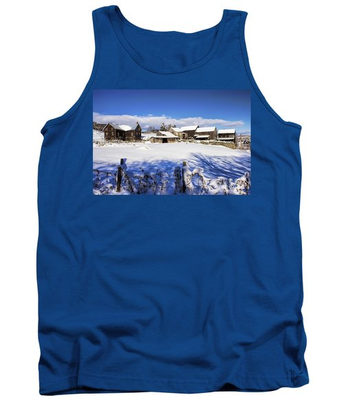 Frozen In Time One  Tank Top