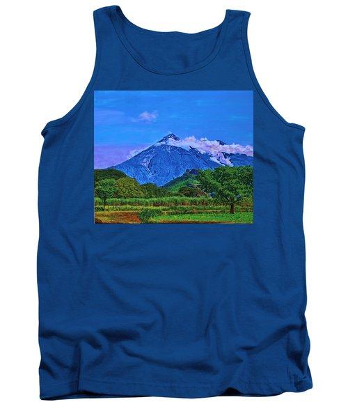 Fuego Volcano Guatamala Tank Top