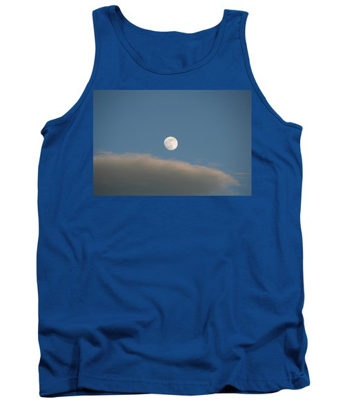 Tank Top featuring the photograph Full Moon by David S Reynolds