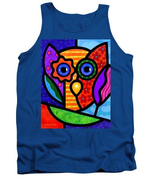 Garden Owl Tank Top