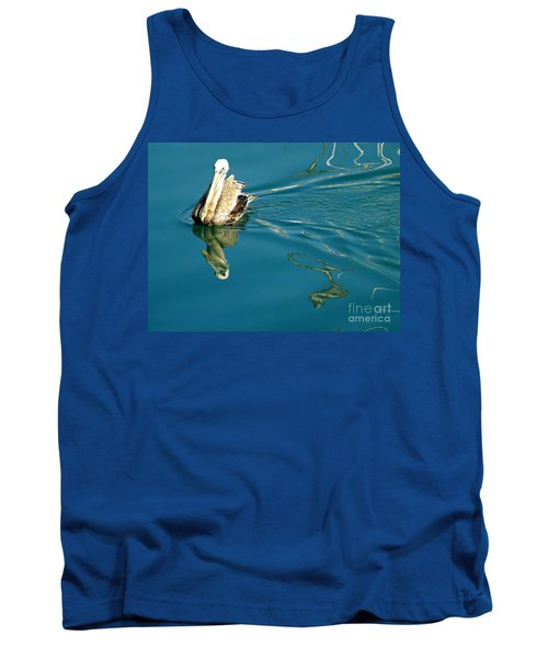 Gliding Tank Top by Clare Bevan