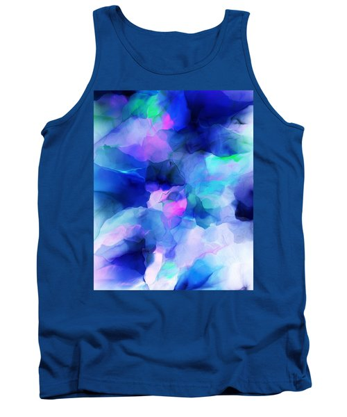 Tank Top featuring the digital art Glory Morning by David Lane