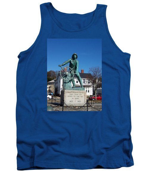 Gloucester Fisherman Tank Top by Catherine Gagne