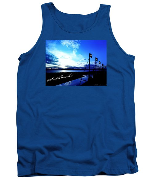 Go Seahawks Tank Top by Eddie Eastwood