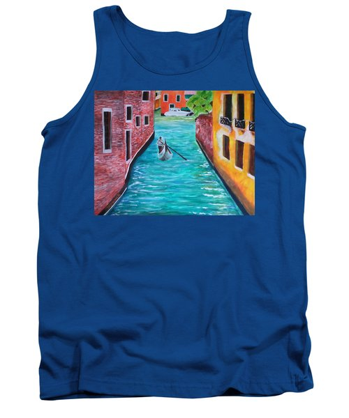 Gondola Time Tank Top by Christy Saunders Church