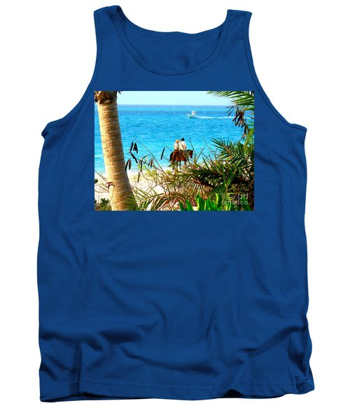 Grace Bay Riding Tank Top by Patti Whitten