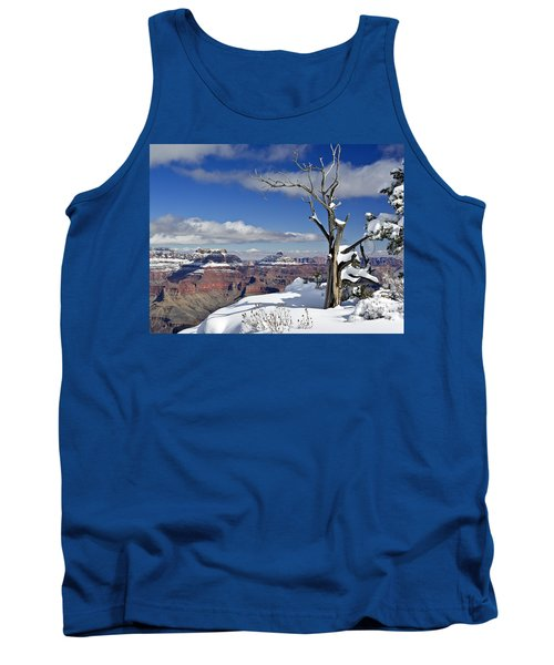 Grand Canyon Winter -2 Tank Top