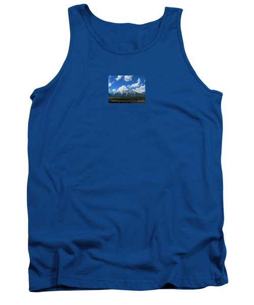 Grand Teton National Park Tank Top by Janice Westerberg