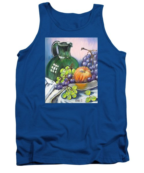 Grapes Galore Tank Top by Marilyn  McNish