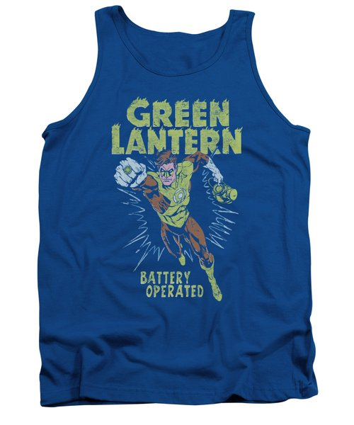 Green Lantern - Fully Charged Tank Top