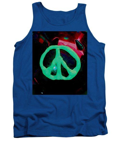 Peace Symbol Tank Top