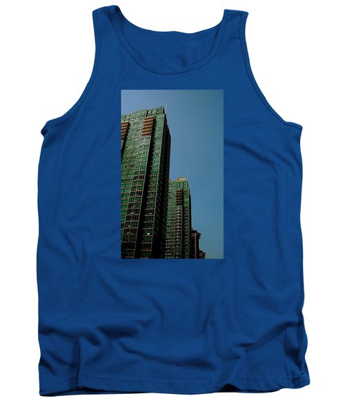 Green Vancouver Towers Tank Top
