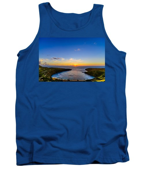 Hanauma Bay Sunrise Tank Top