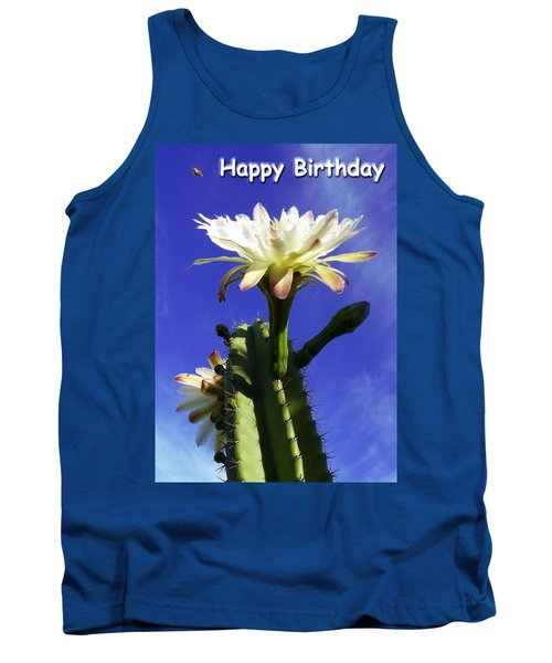 Happy Birthday Card And Print 11 Tank Top