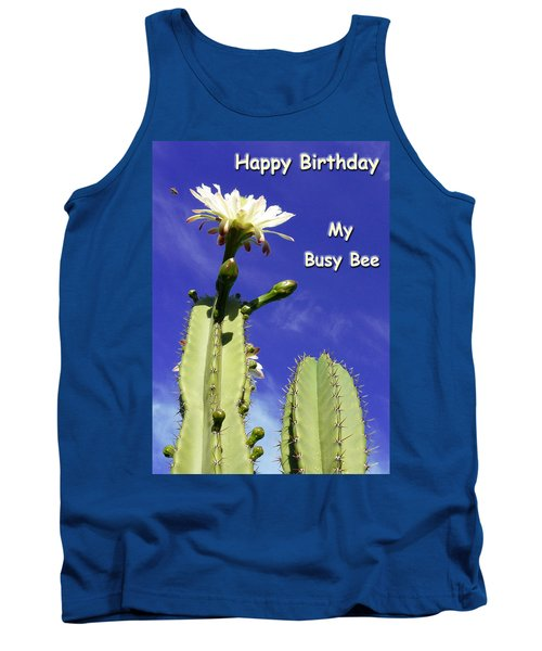 Happy Birthday Card And Print 22 Tank Top