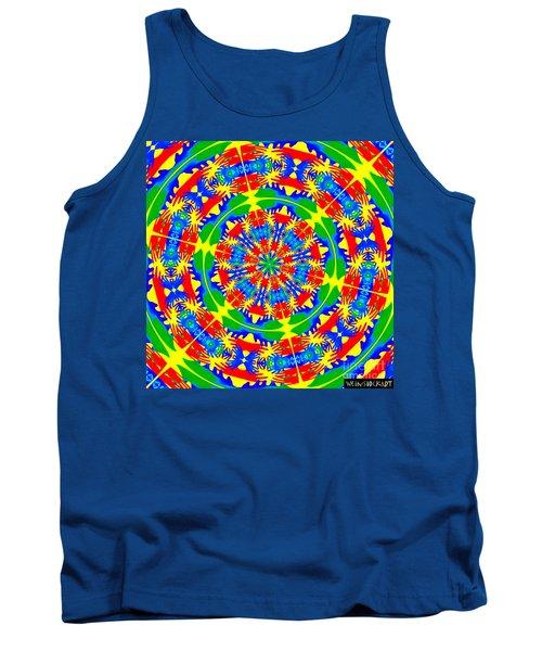 Happy Hands Mandala Tank Top