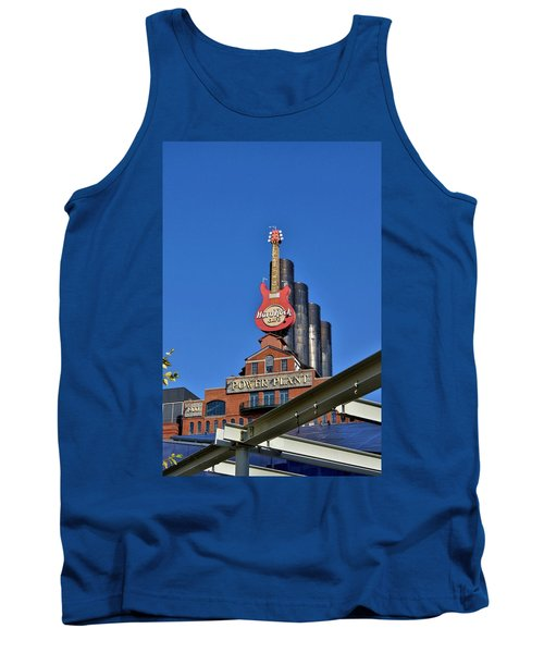 Hard Rock Cafe - Baltimore Tank Top by Jean Goodwin Brooks