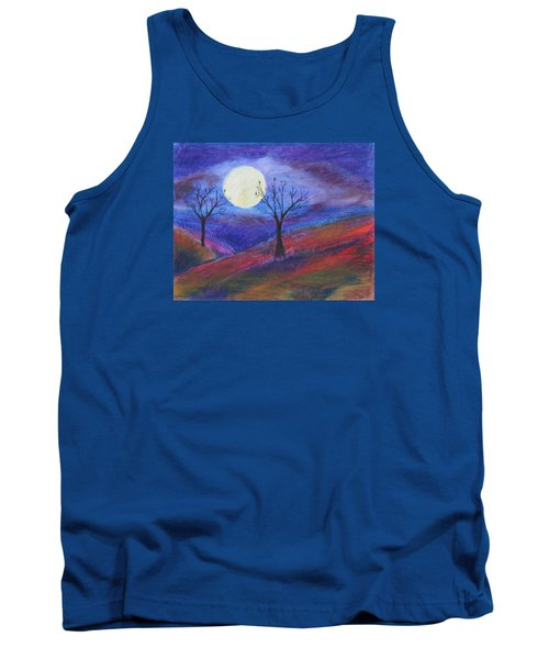 Harvest Moon 3 Tank Top by Jeanne Fischer