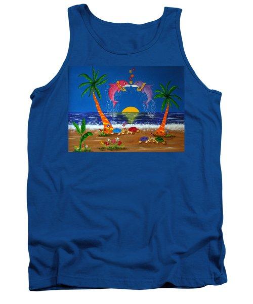 Hawaiian Island Love Tank Top