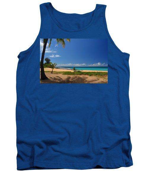 Heavenly Haena Beach Tank Top by Marie Hicks