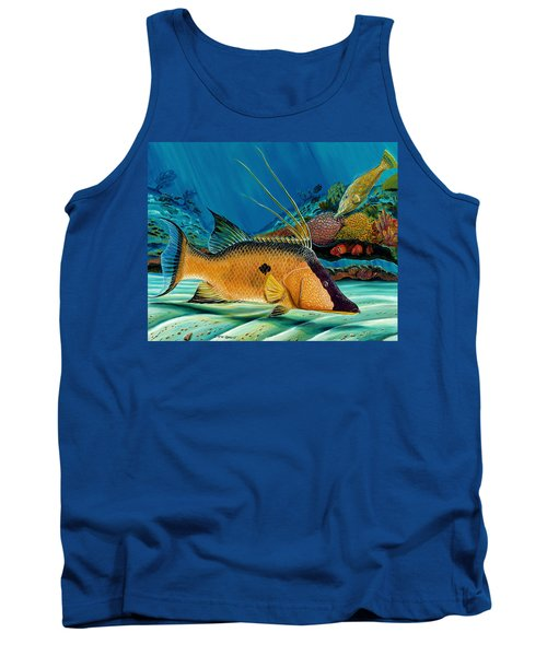 Hog And Filefish Tank Top