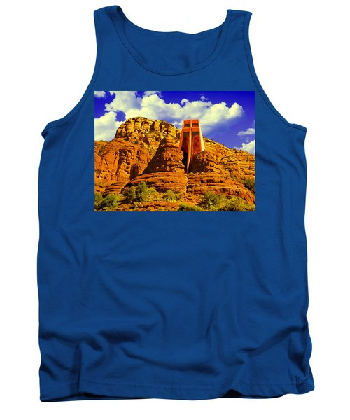 Holy Cross Chapel Coconino National Forest Tank Top