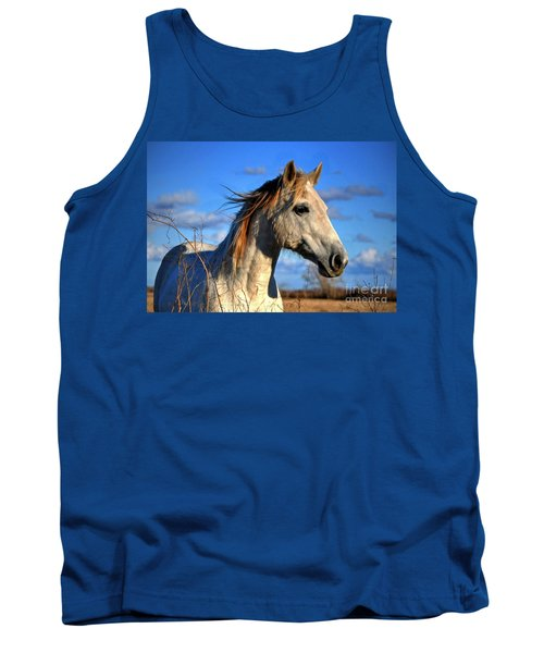 Tank Top featuring the photograph Horse by Savannah Gibbs