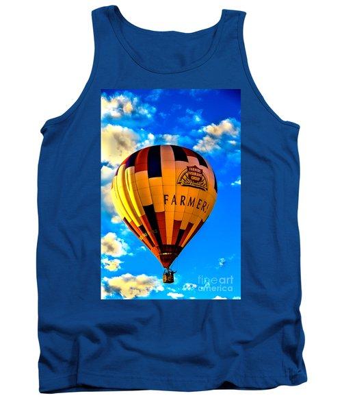 Hot Air Ballon Farmer's Insurance Tank Top