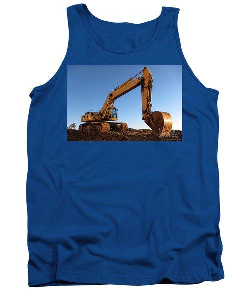 Hydraulic Excavator Tank Top