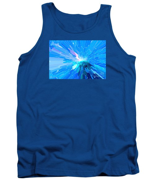 Tank Top featuring the photograph Ice Queen by Mariarosa Rockefeller