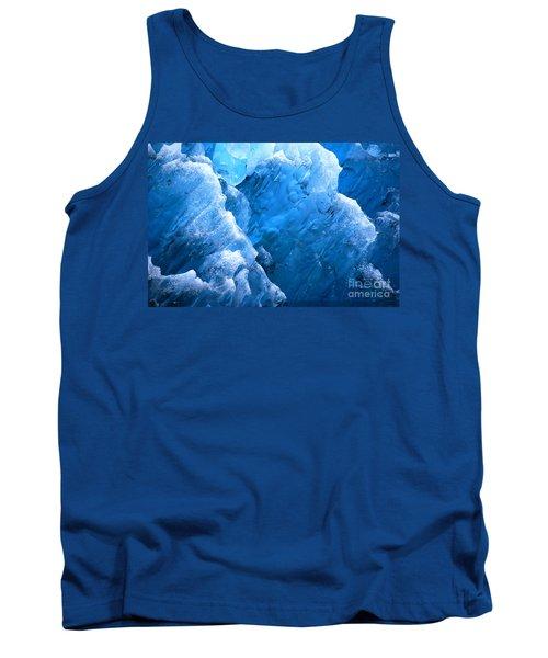 Iceberg Blues Tank Top by Cynthia Lagoudakis