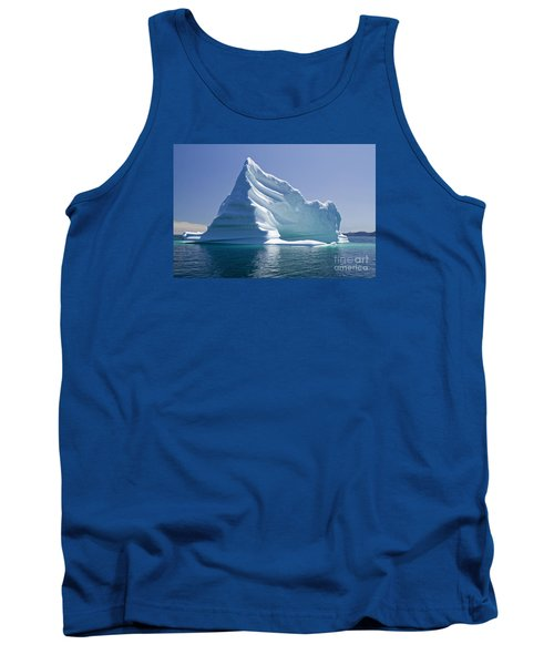 Tank Top featuring the photograph Iceberg by Liz Leyden