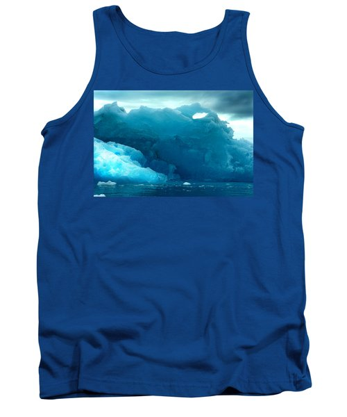 Tank Top featuring the photograph Icebergs by Amanda Stadther